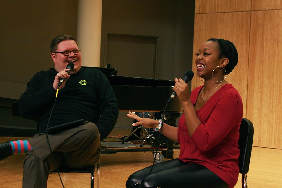 Alicia Olatuja And Jeff Baker Jazz Conversation Pdx