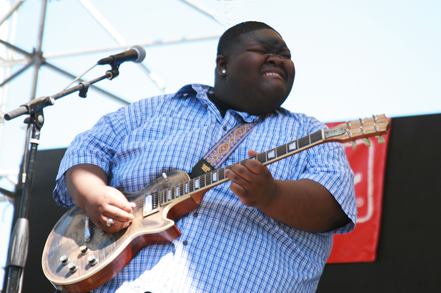 Christone Kingfish Ingram At The Safeway Waterfront Blues