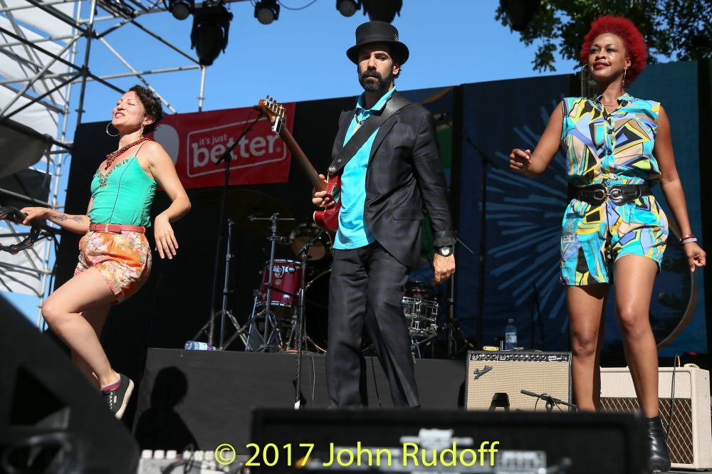 Pimps Of Joytime At The Safeway Waterfront Blues Festival