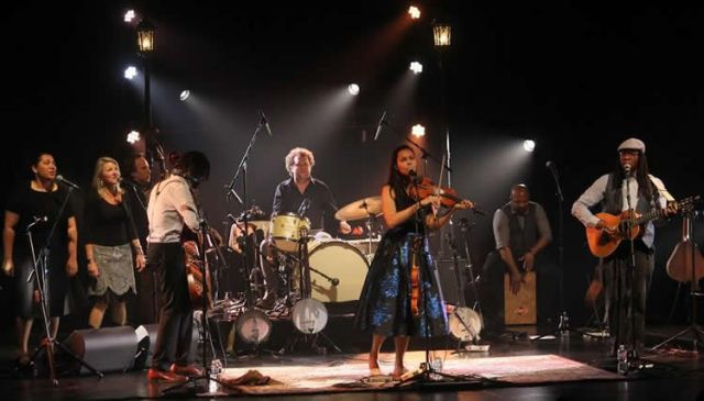 Rhiannon Giddens and her band visit Portland on Tuesday at the Aladdin Theater.