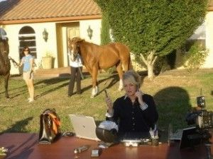 Pennie Lane at work on the farm. Photo by Charles Waugh.
