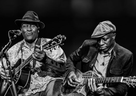 Taj Mahal and Keb' Mo' join forces for TajMo // Photo by Bob Minkin