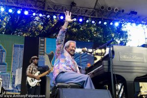 Allen Toussaint at 2015 Waterfront Blues Festival / Photo by Anthony Pidgeon.