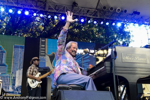 Allen Toussaint 2015 Waterfront Blues Festival / Photo by Anthony Pidgeon