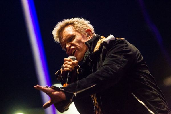 Billy Idol, still sneering after all these years