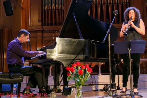 Fred Hersch And Anat Cohen At The Old Church On 06 12 2016