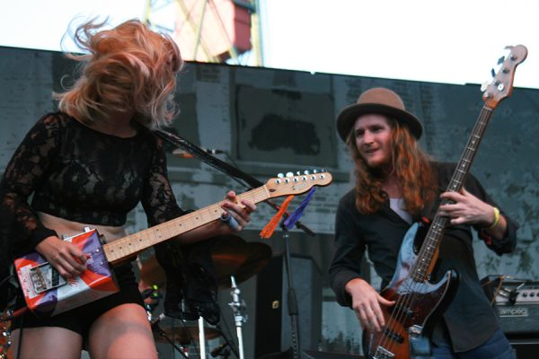 Samantha Fish At The Safeway Waterfront Blues Festival On