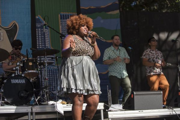 The Suffers at the Safeway Waterfront Blues Festival on 7 ...