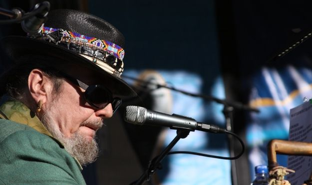 Dr. John brought his New Orleans sounds to the waterfront on Sunday. // Photo by Scott Cunningham