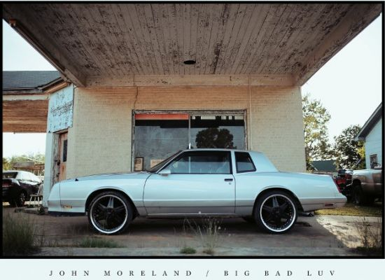 Cover art from John Moreland's latest release 'Big Bad Luv'.