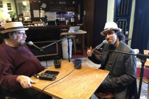 Martin Zarzar doing a Coffeeshop Conversation @ Artichoke Music